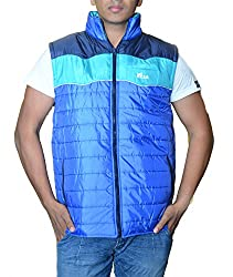 Pragati Traders Men's Polyester Jacket (S-9_S_Blue Sky Blue_Small)