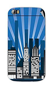 Miicreations Mobile Skin Sticker For Micromax canvas doodle-2-A-240,Graphic Design