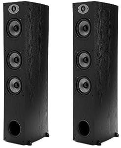 Polk Audio TSx 440 Tower Speaker - Black-PAIR