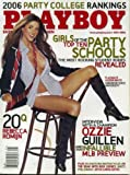 517jDbF0efL. SL160  Playboy May 2006 Girls of the Top Ten Party Schools (nude), Ozzie Guillen/Chicago White Sox Interview, Rebecca Romijn 20 Questions, Joyce Carol Oates Fiction, To Baghdad and Back With Dick Cheney