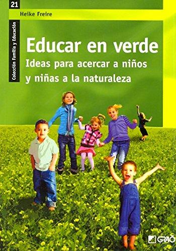 EDUCAR EN VERDE descarga pdf epub mobi fb2