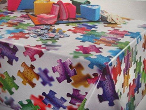 TOVAGLIA di PVC in PLASTICA ROTOLO da 20 mt cerata 386701 PUZZLE