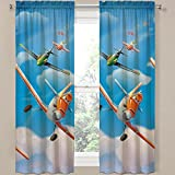 Disney Planes Window Panels / Curtains / Drapes - Set of 2