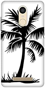 The Racoon Grip Palm Trees hard plastic printed back case / cover for Xiaomi Redmi Note 3