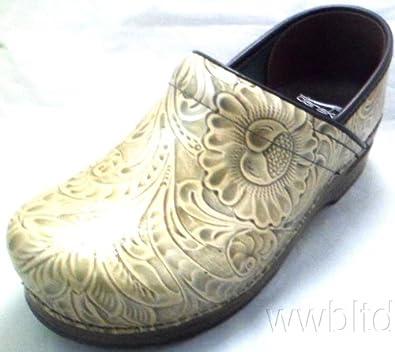 Dansko Women's Professional Taupe Arabesque Leather Size 37 Medium