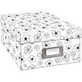 Pioneer B1BW Photo Storage Box, Black & White