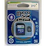 pqi microSDHC 4GB SD変換アダプター付属 MRSDH6B-4G
