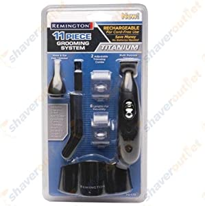 Remington PG175 Titanium 11 piece Personal Groomer