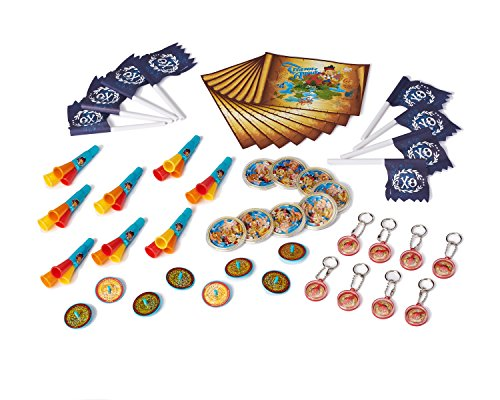 Jake and the Never Land Pirates Party Favor Pack, Value Pack, Party Supplies