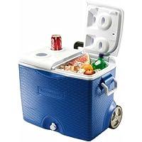 Rubbermaid 45 qt. Wheeled Cooler (Blue)