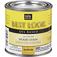 - W44N00802-12 Best Look Interior Wood Stain-OAK INTERIOR WOOD STAIN