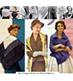 26 Vintage Shawl Knitting Patterns from the 1940's -1960's - Knit Shawls, Knit Stoles, Knit Scarf, Vintage Knitted Shawl Patterns - Ebook Download