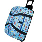 Wildkin Olive Kids Trains, Planes and Truck Good Times Rolling Duffel Bag