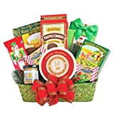 California Delicious Holiday Snack Delights Gift Basket, 4 Pound