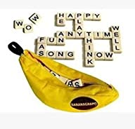 Blackcell Bananagrams Game Set