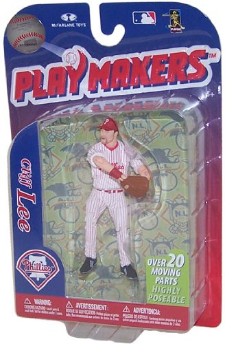 MLB Philadelphia Phillies McFarlane 2012 Playmakers Series 3 Cliff Lee Action Figure - 1