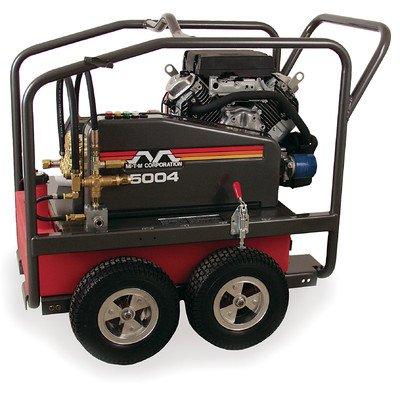Mi-T-M Cwc-5004-4Mah Cwc Gasoline Series Cold Water Belt Drive, 688Cc Honda Ohv Electric Start Gasoline Engine, 5000 Psi Pressure Washer