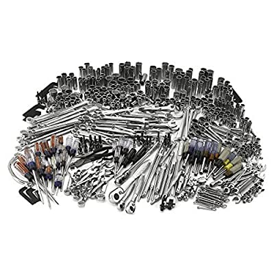 Sears Craftsman Tools. The Best Tool Kit to Complement Your Power, Auto, Electronics, Garden or Truck Set. Guaranteed! Repair Anything. For Mechanical Engineering Professionals or As a Hobby. Great 540 Pieces Mechanics Hardware. Warranty Included!!