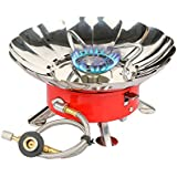 Etekcity E-gear Portable Collapsible Windproof Outdoor Backpacking Gas Camping Stove