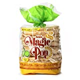 Kim&#8217;s Magic Pop Onion Flavor 12-Pack: Freshly Popped Rice Cakes, Healthy Grain Snack, 0 Weight Watchers Point