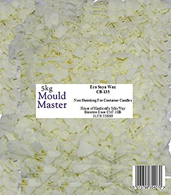 Moldmaster 5 kg Eco Soy Wax, White by House Of Handicrafts