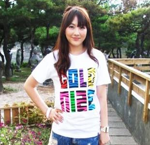 KARA (カラ) ジヨン協賛Jungle T 001 (white)