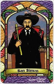 San Simon (Maximon) * St. Simon * Bilingual Prayer Card With Vinyl