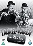 Laurel And Hardy: All The Wrong Notes! Collection [DVD]