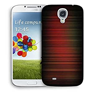 Snoogg Red Pattern Design Designer Protective Phone Back Case Cover For Samsung Galaxy S4