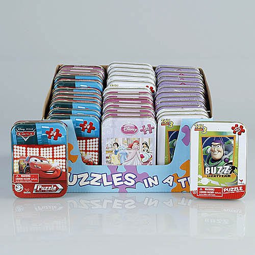 Disney Princess Mini Tins