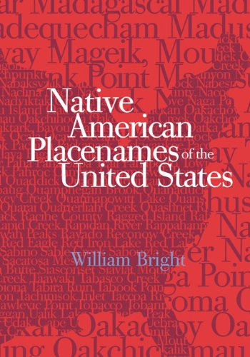 Native American Placenames Of The United States front-888255