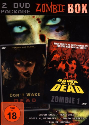 ZOMBIE BOX (2DVDs) Don´t wake the Dead & Dawn of the Dead (Zombie 1)