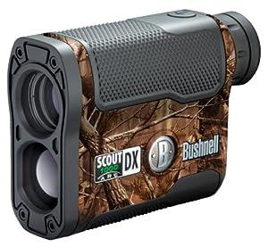 Bushnell Scout DX 1000 ARC 6x 21mm Laser Rangefinder, Realtree AP Camouflage