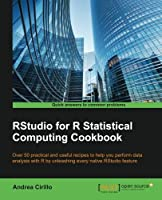 RStudio for R Statistical Computing Cookbook Front Cover