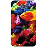 Samsung Galaxy Grand Phone Cover - Colorful Back Cover