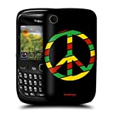 Head Case Rasta Peace Emblems Back Case Cover For BlackBerry Curve 8520 9300 3G