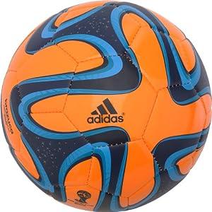 Buy Adidas Brazuca Glider Soccer Ball (Orange) Size 4 by adidas