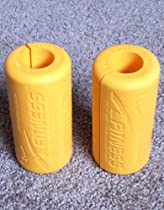Xfitness Grip Bar - Arm Muscle Builder - Crossfit Grip Bar - Yellow