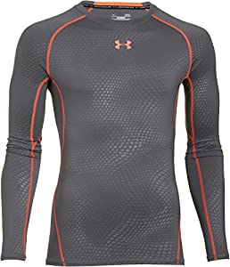 Under Armour Men's UA HeatGear® Armour Printed Long Sleeve Compression Shirt