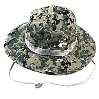 592253365ff455 Boonie Bucket Hat Sun Cap for Men Women (Digital Camo) Toys Games