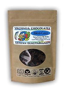 Mexi-coco Cocoa Nib Brittle 3oz from Ykchaua Chocolates