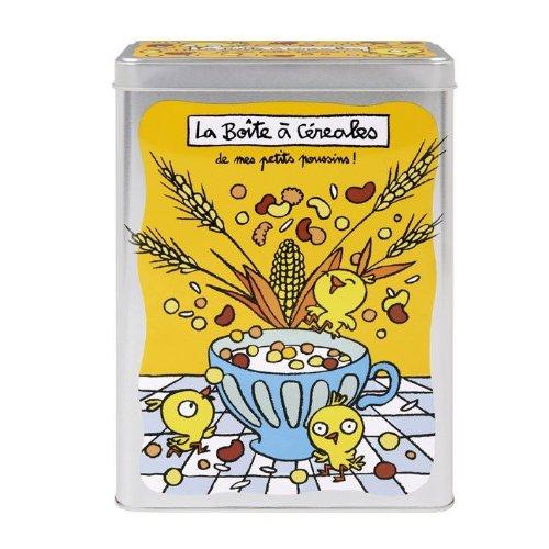 Boîte à céréales Mes petits poussins - Jaune - Derrière la Porte - DLP
