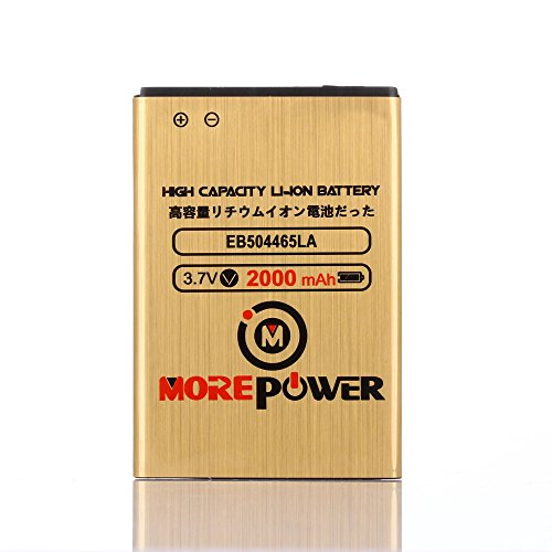 MOREPOWER Samsung Galaxy Prevail SPH-M820 Battery EB504465LA EB504465VA EB504465VU High Capacity & Long Lasting 2000 mAh For Samsung Galaxy Prevail SPH-M820 / Samsung Intercept SPH-M910 / Samsung Transform SPH-M920 / Samsung Galaxy S Aviator SCH-R930 / Samsung Repp SCH-R680 / Samsung Galaxy Indulge SCH-R910 / Samsung Galaxy Indulge SCH-R915 / Samsung Galaxy Precedent SCH-M828C / Samsung Galaxy Admire SCH-R720 / Samsung Galaxy S Lightray 4G SCH-R940 / Samsung Vitality SCH-R720 (Samsung Galaxy Precedent compare prices)