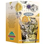 Lemon Ginger Green Iced Tea Powder