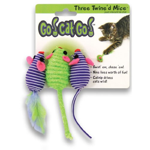Go!Cat!Go! Three Twined Mice