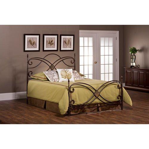 Hillsdale Furniture Barcelona Metal Bed
