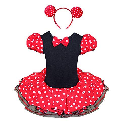 Minnie Mouse Mädchen Kostüm K