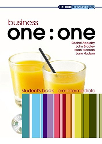 Business one:one Pre-intermediate: Business One to One Pre-Intermediate: Student's Book and Multi-ROM Pack