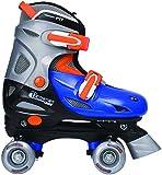 Chicago Boy's Adjustable Quad Skate, Blue/Silver, Small