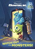 img - for Watch Out for Monsters! (Disney/Pixar Monsters, Inc.) (Glow-in-the-Dark Sticker Book) book / textbook / text book